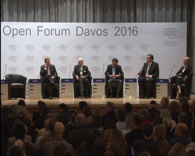 Vucic a Davos