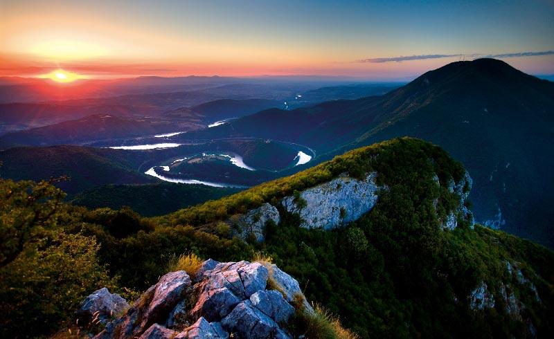 fiumi della serbia