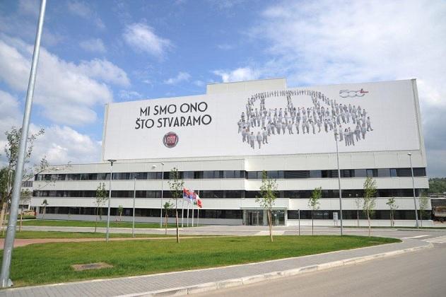 lavoratori in sciopero alla Fiat