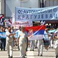 """Sciopero del sindacato """"Magneti Marelli"""" a Kragujevac"""
