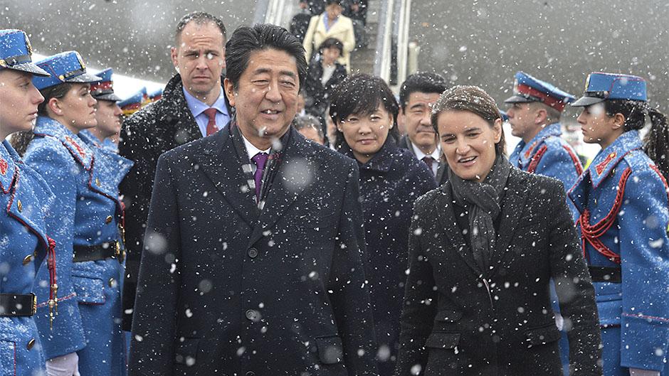 Visita di Shinzo Abe