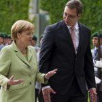 Merkel arrives in Serbia today