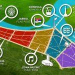 Il parco dell'amicizia di Usce presto avrà le montagne russe, un'acquario e una ruota panoramica