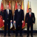 """Vucic, Rama e Zaev si incontrano a Novi Sad per istituire una """"mini Schengen"""""""