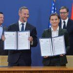 """L'ufficio della """"DFC"""" apre a Belgrado; Vučić: """"Una nuova era nelle relazioni serbo-americane"""""""