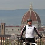 Wolfango Poggi cycling from Florence to Belgrade for Serbian children